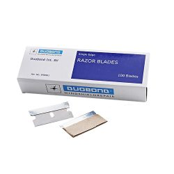 Duobond single edge razor blades 100 pieces (box)