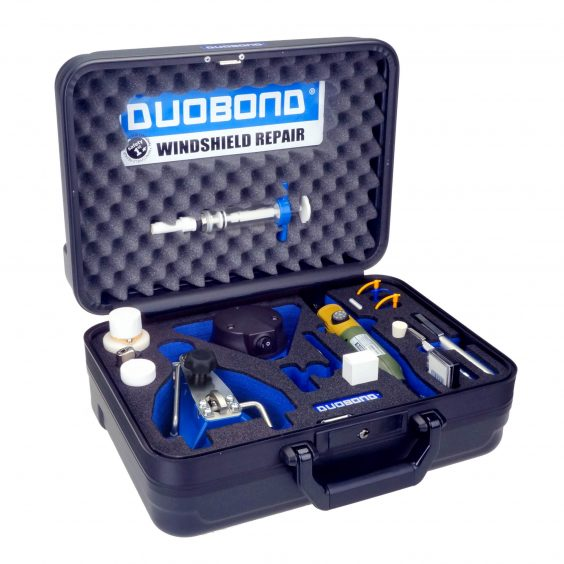 Duobond windshieldrepair set Fixter