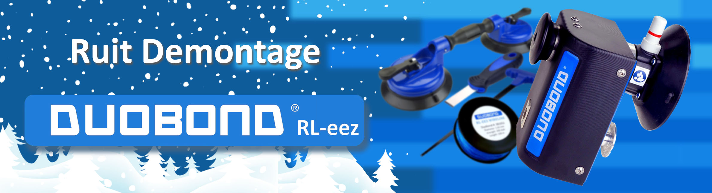 banner ruit demontage winter editie