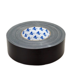 Roll of linen tape black 50mm x 50m