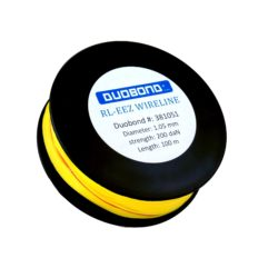 Duobond RL-eez wireline Coil/100 meter nylon cutting wire 1mm, 200 daN. Yellow