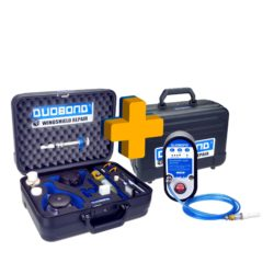 Duobond windshield repair set IQ-2 including Pulse automat